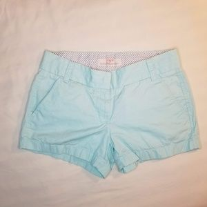 J Crew Broken In Chino Shorts Size 0